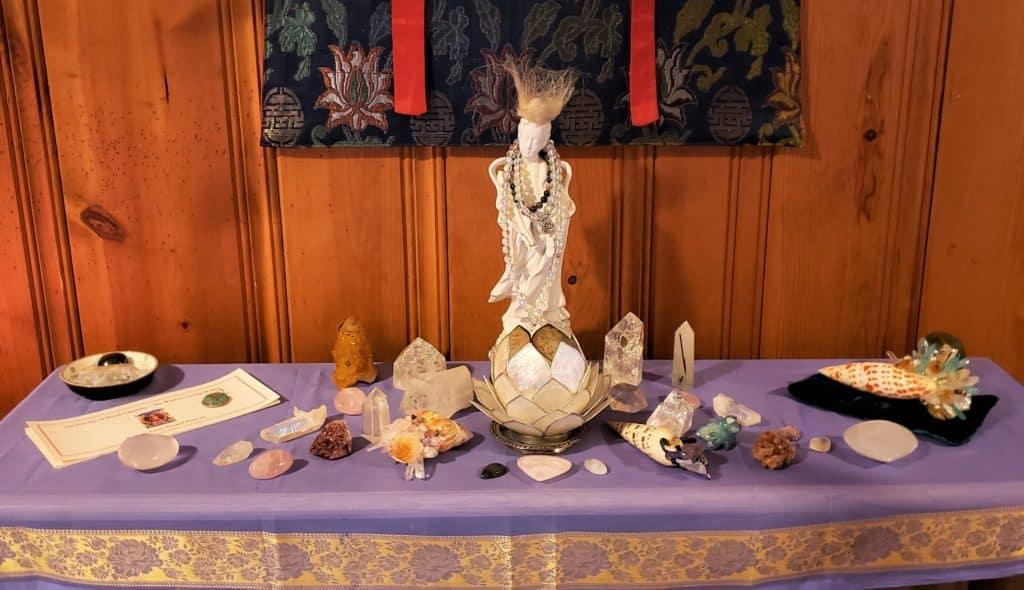Home Altar to the Divine